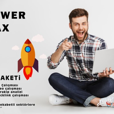 POWER Max backlink seo paketi