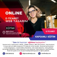 E-Tticaret Web Tasarım Eğitimi