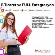 PREMİUM ETİCARET SİTESİ + 6 SANAL PAZAR ENTEGRASYON PAKETİ