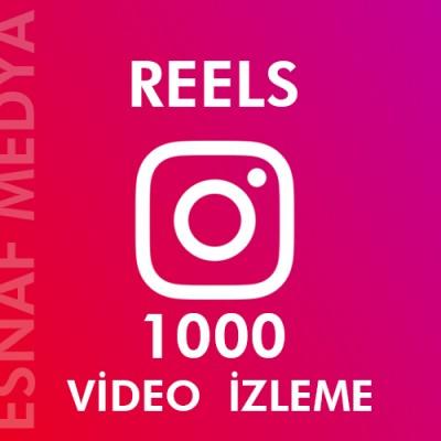 İnstagram Reels  1000 Video Görüntüleme Arttırma