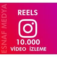 İnstagram Reels  10.000 Video Görüntüleme Arttırma