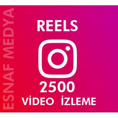 İnstagram Reels  2500 Video Görüntüleme Arttırma