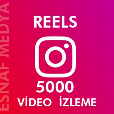 İnstagram Reels  5000 Video Görüntüleme Arttırma