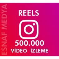 İnstagram Reels  500.000 Video Görüntüleme Arttırma