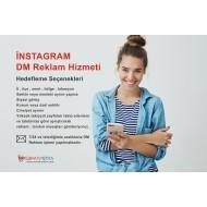 İnstagram DM Reklam ve Tanıtım Hizmeti