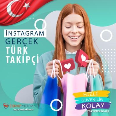 Gerçek Organik 1000 Türk Takipçi