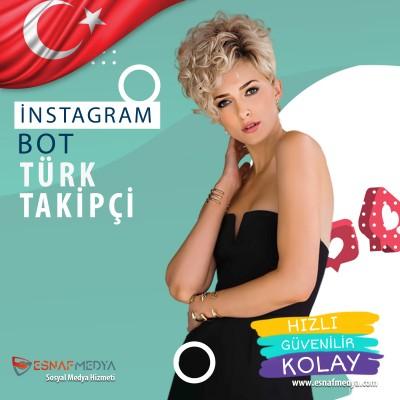Türk Görünümlü Bot Takipçi ( Minimum sipariş 1000 Takipçi )