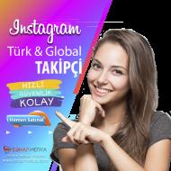 Türk & Global 1000 Takipçi