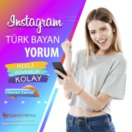 İnstagram Türk Bayan Yorum