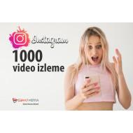 İnstagram 1000 Video Görüntüleme Arttırma