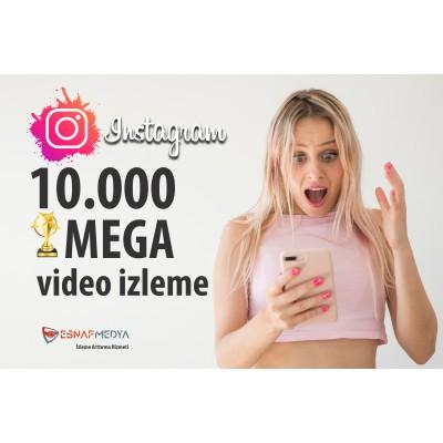 İnstagram 10.000 Video Görüntüleme Arttırma