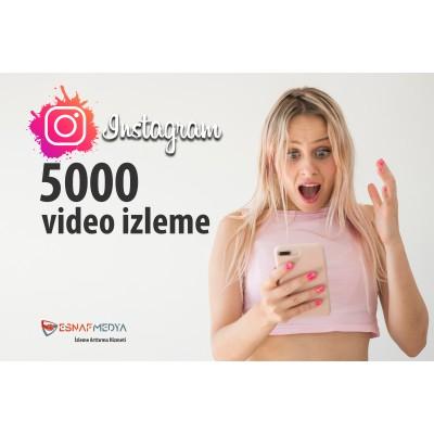İnstagram 5000 Video Görüntüleme Arttırma