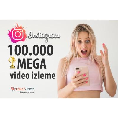 İnstagram 100.000 Video Görüntüleme Arttırma