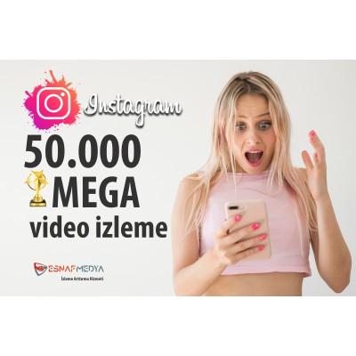 İnstagram 50.000 Video Görüntüleme Arttırma