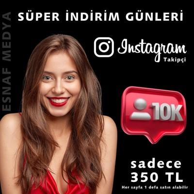 10.000 Türk Gerçek , Türk bot & Global Takipçi