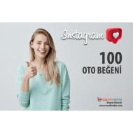 İnstagram 100 Oto Beğeni ( 10 Paylaşım için )