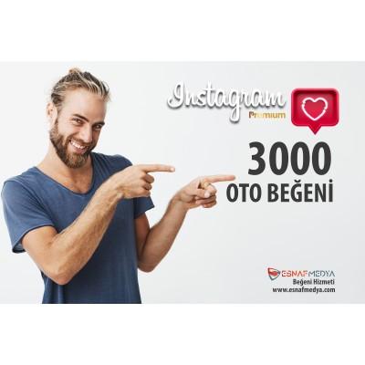 İnstagram 3000 TÜRK Oto Beğeni Paketi ( 10 Paylaşım için )