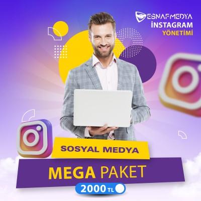 İnstagram Sosyal Medya Yönetimi Mega Paket