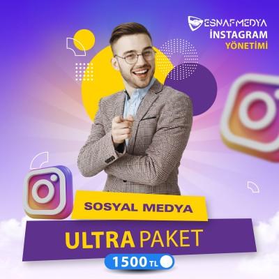 İnstagram Sosyal Medya Yönetimi Ultra Paket