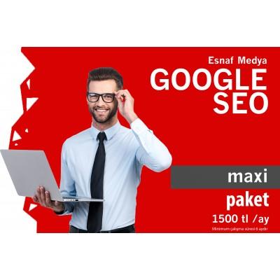Google SEO MAXİ Paket