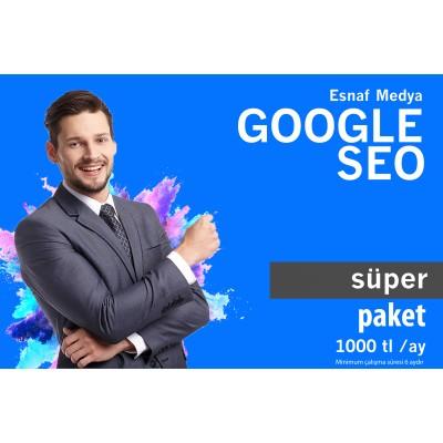 Google SEO SÜPER Paket