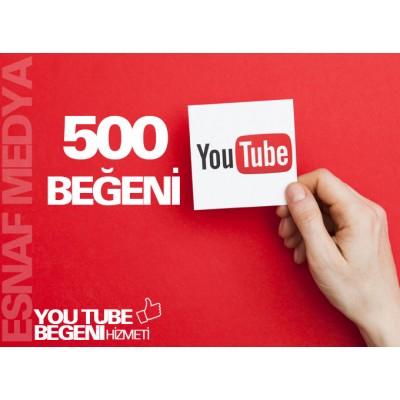 Youtube 500 Beğeni