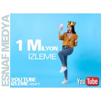 Youtube 1 Milyon İzleme