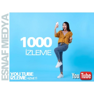 Youtube 1000 İzleme