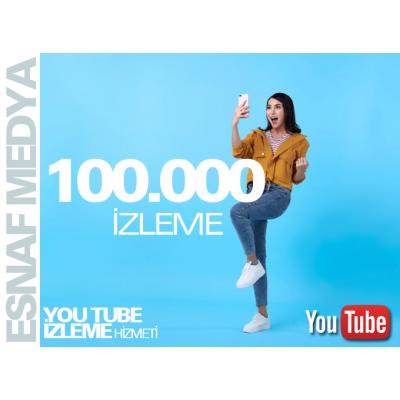 Youtube 100.000 İzleme