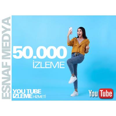 Youtube 50.000 İzleme
